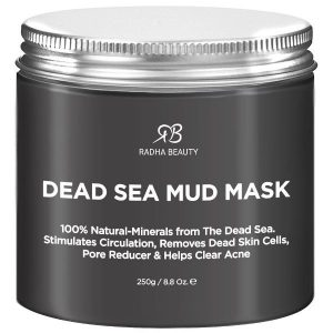 Dead Sea Mud Mask Guide - Dead Sea Mud Mask by Radha Beauty