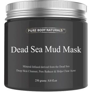 Dead Sea Mud Mask Guide - Beauty Dead Sea Mud Mask by Pure Body Naturals