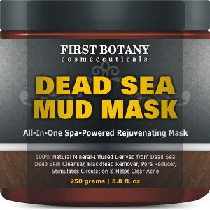 Dead Sea Mud Mask Guide - Dead Sea Mud Mask by First Botany Cosmeceuticals
